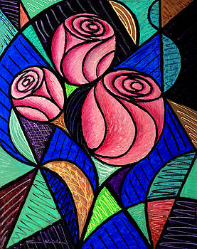 Three Roses by Bruce Bodden