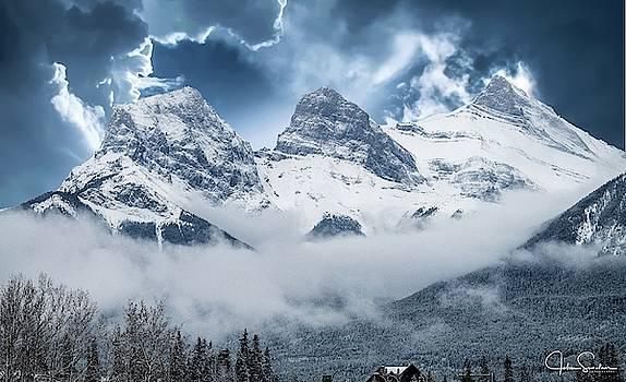 John Sinclair - Three Sisters Banff Canada