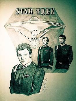 Three Spacemen by Kathy Gail