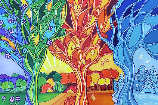 Through Seasons by Jennifer Allison