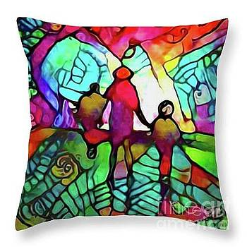 Throw Pillow Idea by Nina Silver