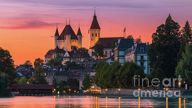 Thun Castle, Switzerland by Henk Meijer Photography