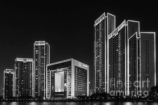 Tianjin skyline by Iryna Liveoak