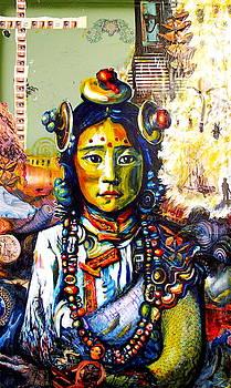 Antony Zito - Tibetan Girl