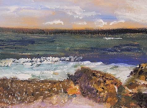 Tide Coming In by Michael Helfen