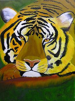 Tiger by Jim Lesher