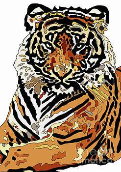 Tiger by Karen Elzinga