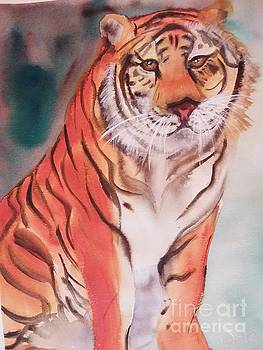 Tiger by Therese Alcorn