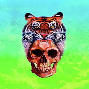 Tigre Caveira by Felipe Navega