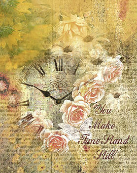 Time Stand Still Greeting Card by Linda Cox