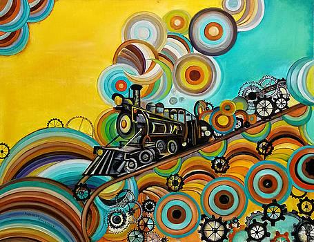 Time Train by Radosveta Zhelyazkova