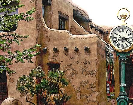 Timeless Santa Fe New Mexico by Toni Abdnour
