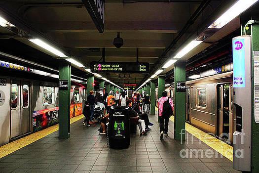 Times Square - 42nd Street Subway by Doc Braham