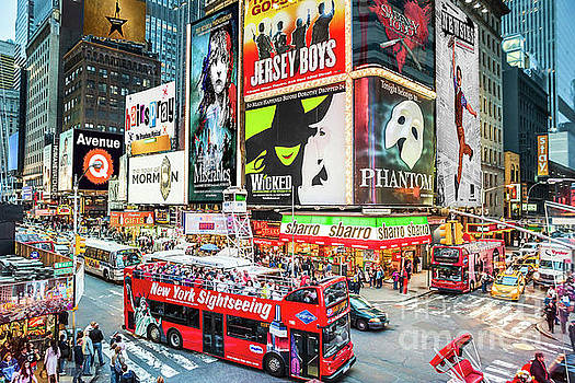 Times Square II Special Edition by Ray Warren
