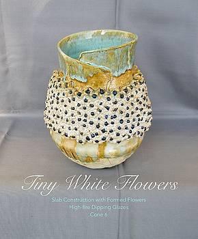 Tiny White Flowers by Teresa Tromp