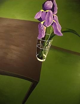 Tipping Iris by John Eric Goines