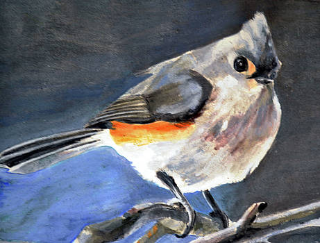 Titmouse by Lori Moon