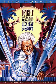 Tito Puente Jazz by Garth Glazier