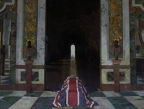 To The Unknown Soldier In France by William Orpen