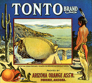 Tonto Arizona Oranges 1926 by Zal Latzkovich