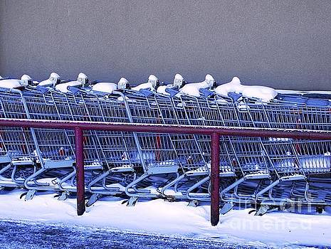Too Cold for Shopping by Bob Lentz