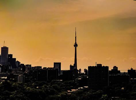 Toronto Cityscape by Kathy Gail