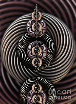 Torsion Twist. 3d Abstract Art by Stephen Geisel