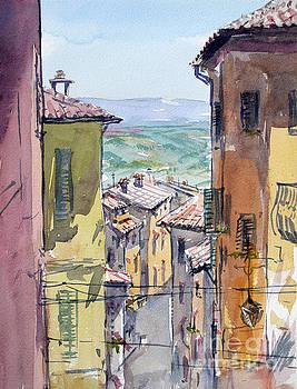 Toscana roofs by Igal Kogan