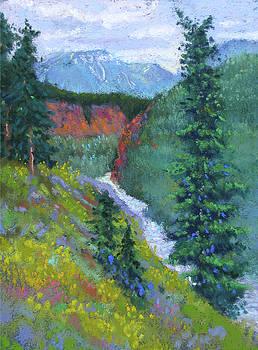 Toward Denali Park by Rhett Regina Owings