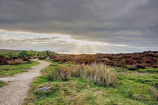 Towards the light at Baslow Edge by Scott Lyons