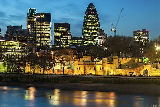 David Ross - Tower of London at Night