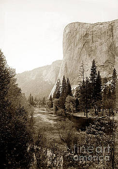 California Views Archives Mr Pat Hathaway Archives - Towering El Capitan from the banks of the Merced River, Yosemite