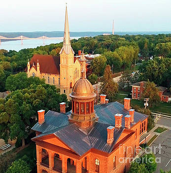 Towering Over Stillwater and St. Croix River Valley by Pictures Over Stillwater