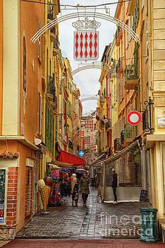 Town Around Princes Palace of Monaco by Wayne Moran