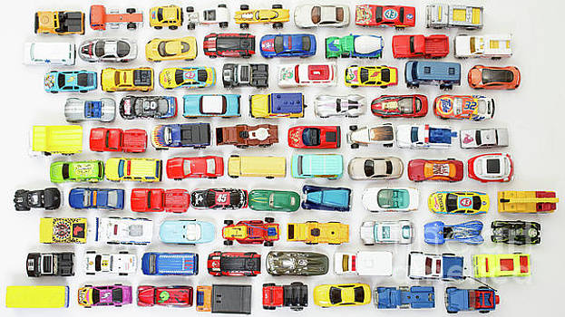 Toy Car Collection by Edward Fielding