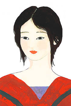 Traditional Chinese woman beauty by Steve Clarke