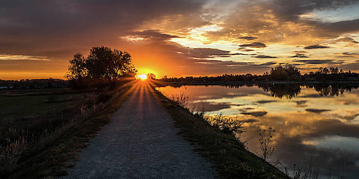 Trail To The Sun by Michael Putthoff