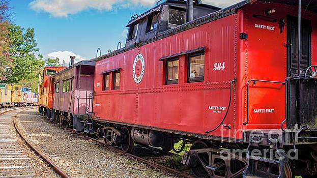 Edward Fielding - Train Caboose Village Tilton New Hampshire 2