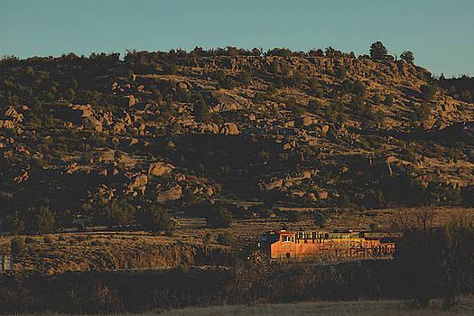Julieta Belmont - Train in Arizona Desert