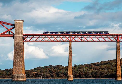 Train on Bridge by Fabio Gomes Freitas
