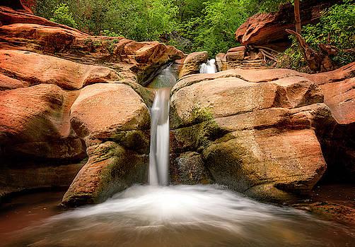 Tranquil Falls by Ryan Wyckoff