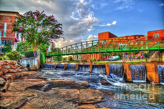 Reid Callaway - Tranquility Reedy River Downtown Greenville South Carolina Art