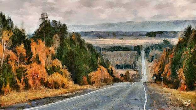 Trans-Siberian Highway by Andreas Theis