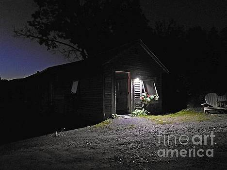 Felipe Adan Lerma - Trapp Family Lodge Cabin Sunrise Stowe Vermont Photo