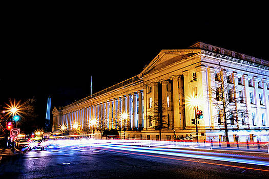 Treasury Building by Travis Rogers