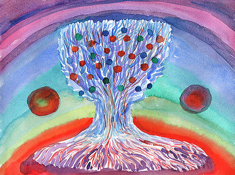 Tree of life abstraction by Dobrotsvet Art