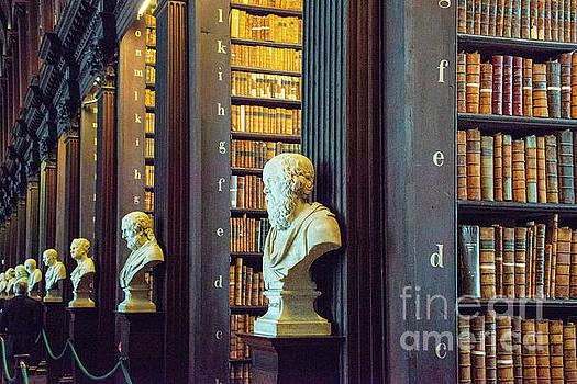 Bob Phillips - Trinity College Library Book Isles