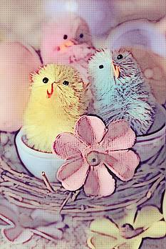 Cathy Lindsey - Trio of Easter Chicks 9