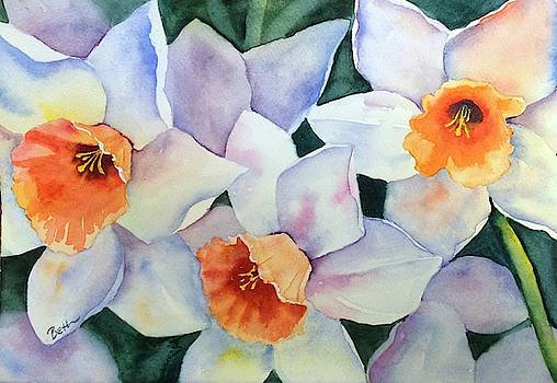 Trio of White by Beth Fontenot