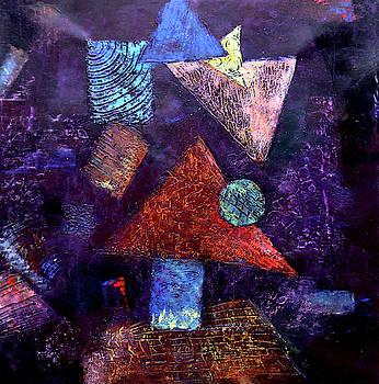 Trio triangles  by Arttantra